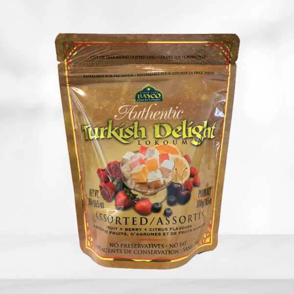 assorted turkish delight pouch