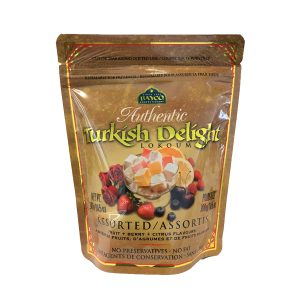 assorted turkish delight pouch white