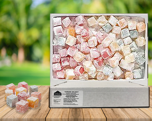 bulk assorted turkish delight-bayco