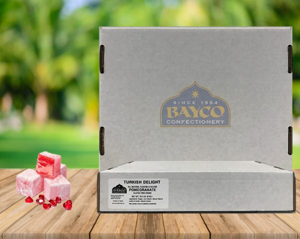 bulk pomegranate turkish delight-bayco