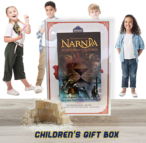childrens gift box turkish delight and book