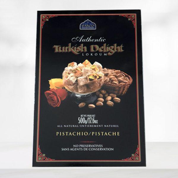 Pistachio gift box.