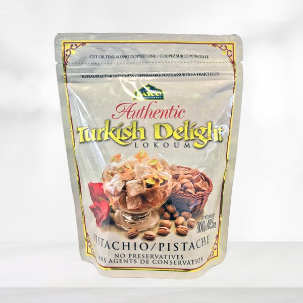 pistachio turkish delight pouch