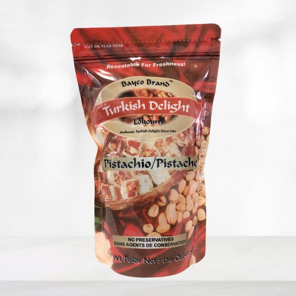 pistachio turkish delight pouch tall
