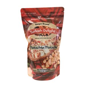 pistachio turkish delight pouch tall white