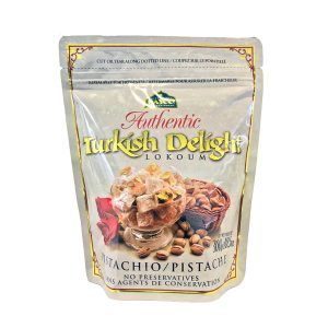 pistachio turkish delight pouch white